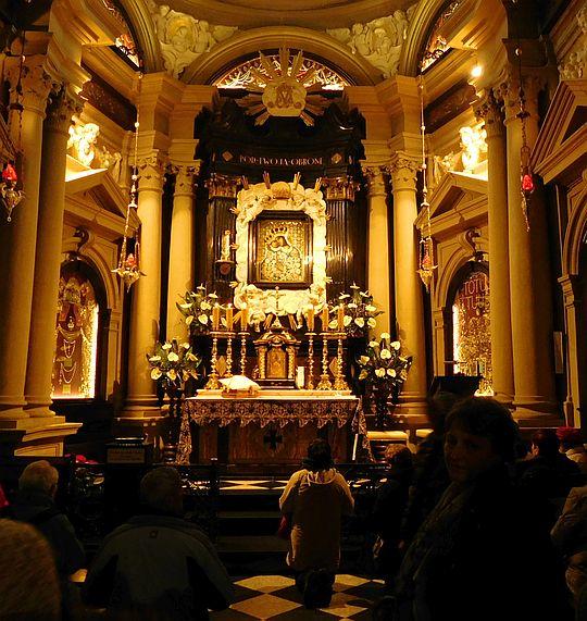 Kaplica Matki Bożej Kalwaryjskiej.