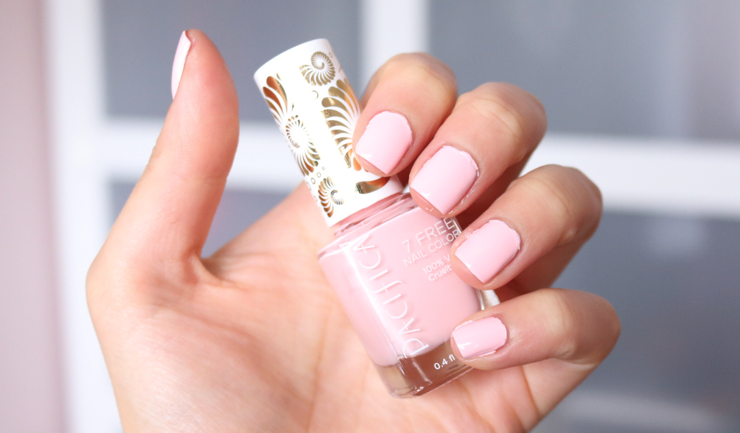 Pacifica Nail Polish in Pink Moon swatches review