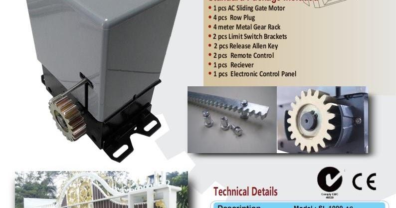 Pemasangan dan instalasi Pagar Remote - Sumut: Pemasangan