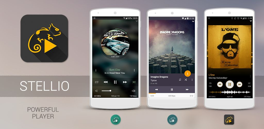 Stellio - Music and mp3 Player for Android - APK Download