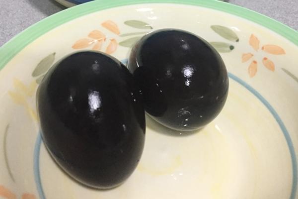 Huevos negros