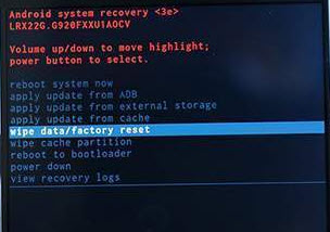 Factory data reseta