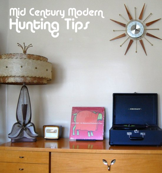 Mid Century Modern Thrifting Tips Be A Mod Swag Pimp