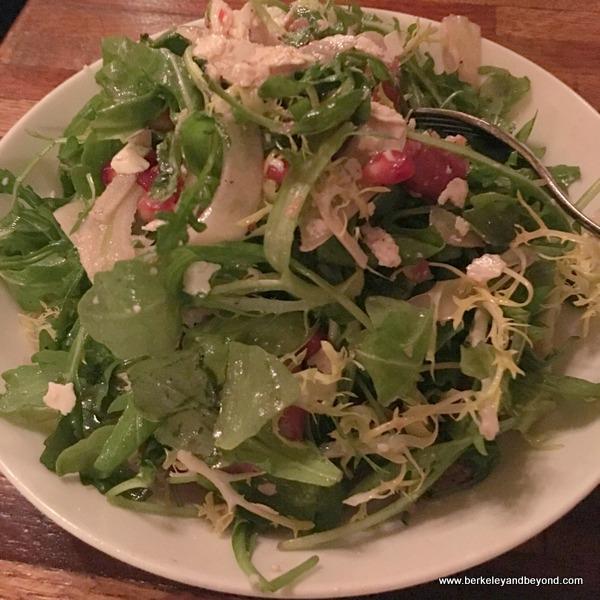 salad at District San Francisco in San Francisco, California