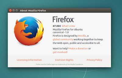 How to : Install Latest Firefox Beta on Ubuntu / Linux Mint