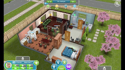 Screenshot: The Sims 4 for Android