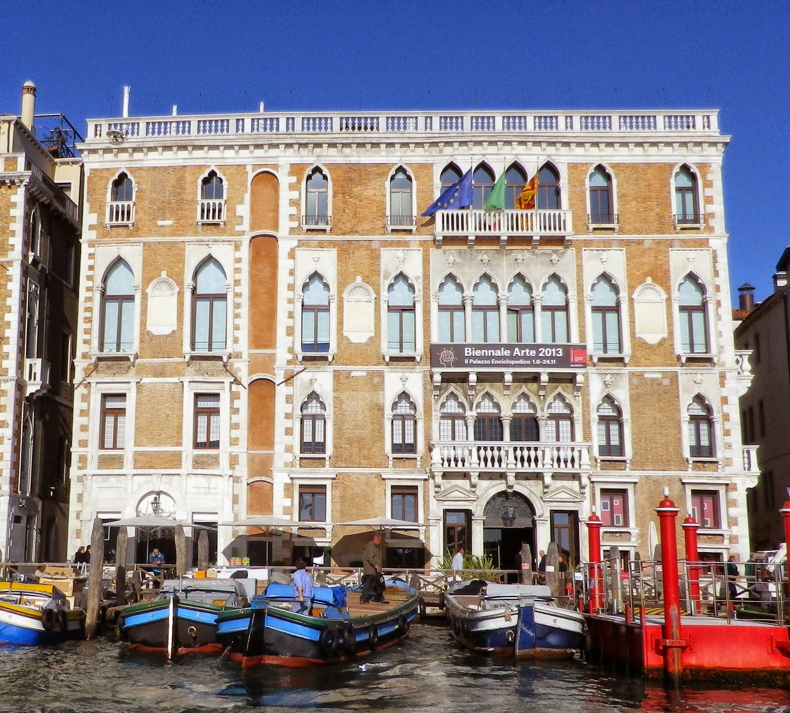 The newly married George Eliot and John Cross spent part of their honeymoon in the Palazzo Giustinian, Venice