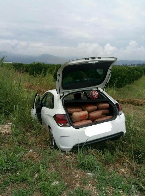 Θεσπρωτία: Καταδίωξη εμπόρων ναρκωτικών