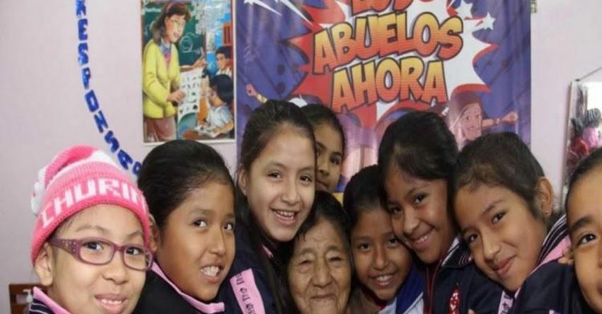 Pensión 65 lanza concurso escolar «Los Abuelos Ahora» en todo el país - www.pension65.gob.pe