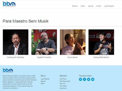 Belajar Bersama Maestro 2018