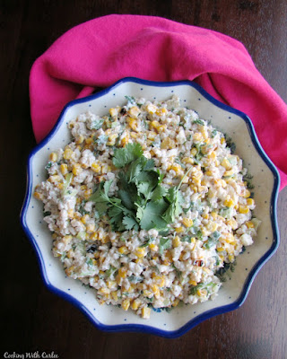 This Mexican Street Corn Barley Salad is packed with the flavors of the street cart favorite, but in a great side for a picnic, potluck or BBQ. Make it ahead for a fun side dish!
