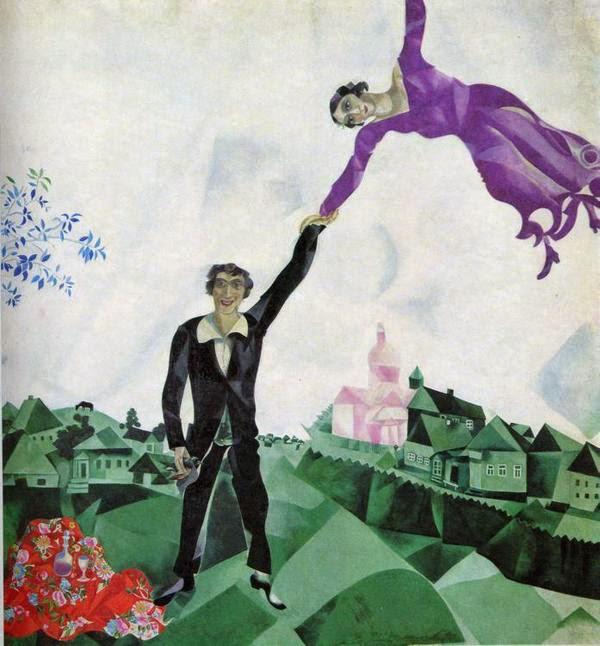 O Promenade - O Surrealismo glorioso de Marc Chagall