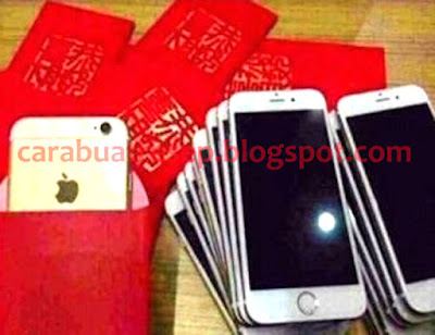 Foto Imlek Angpau Apple Iphone 7