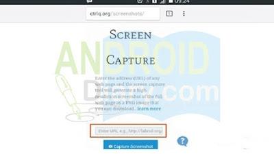 Cara menyimpan screenshot panjang di Android Cara Menyimpan Screenshot Full Page di Android