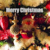 Kerst bureaublad achtergrond met kerstboom