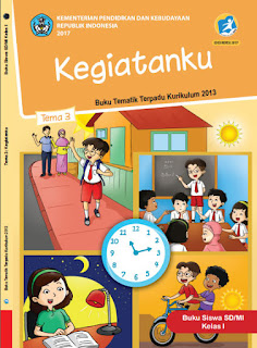 Buku Siswa Tema 3 Kegiatanku Kelas 1-I Kurikulum 2013 Revisi 2017