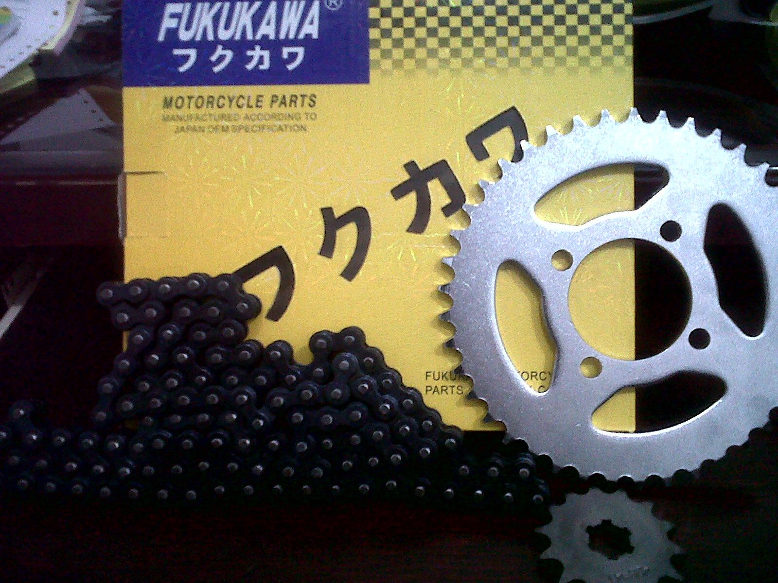 Spare Part Motor FUKUKAWA,YAMAGATA Dan ENR: GEAR PAKET