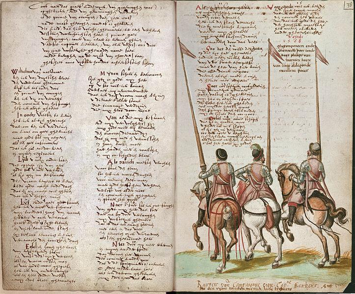 Asal Usul Sejarah LAgu Kebangsaan BELANDA (WILLEM VAN NASSOV)  6bc7c17b13