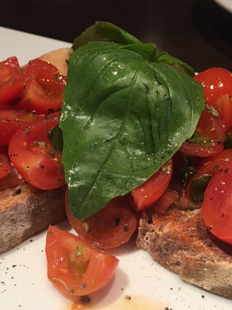 bruschetta  - restaurant review #foodblogger