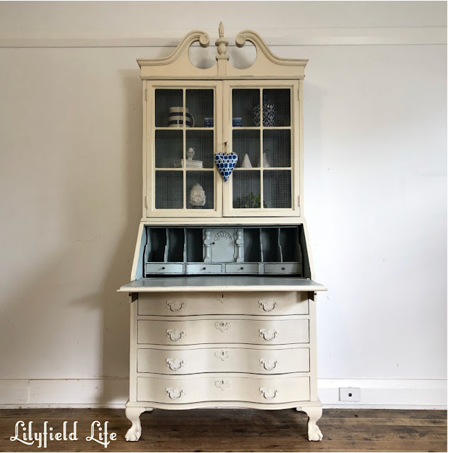 A beautiful vintage secretaire lilyfield life
