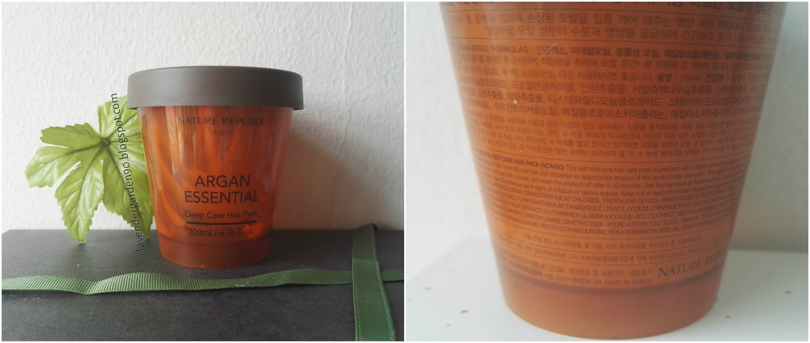 How To Use Nature Republic Argan Oil Hair Mask