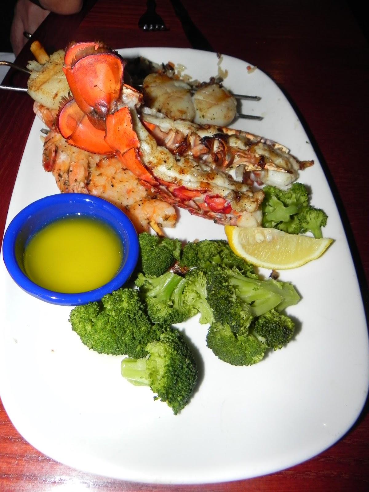 pratos red lobster preços