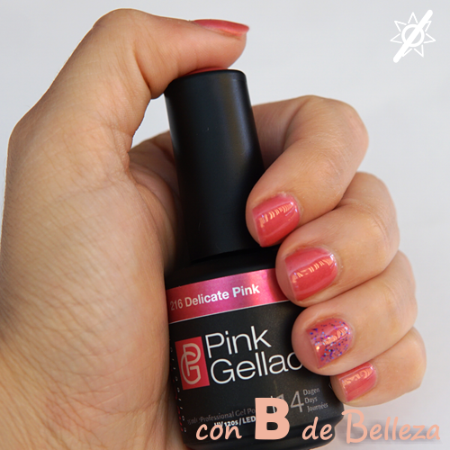 Delicate pink Pink gellac