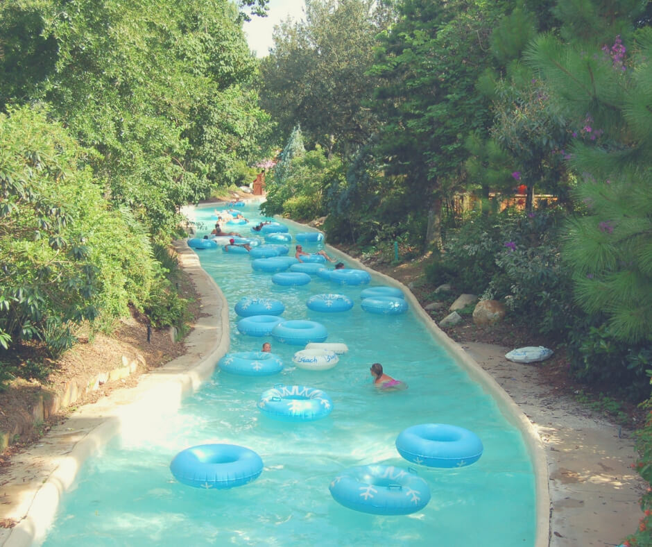 Top 7 Things You Should Do At Blizzard Beach, Walt Disney World | relax in the lazy river!