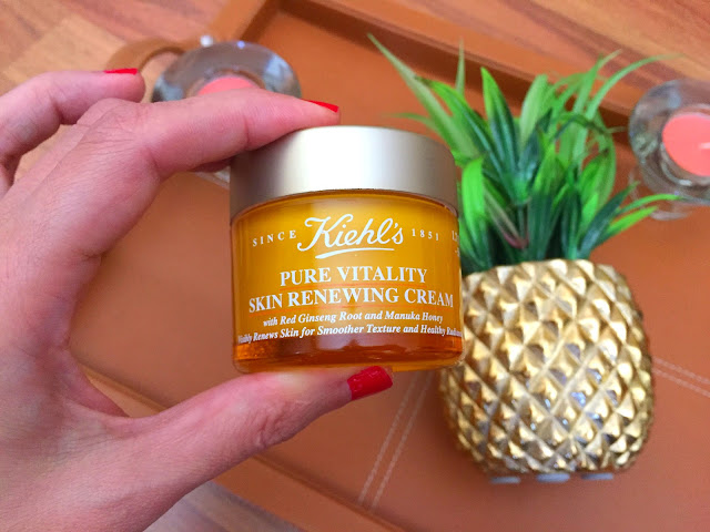 Fitness And Chicness-Kiehl's Pure Vitality Skin Renewing Cream-1