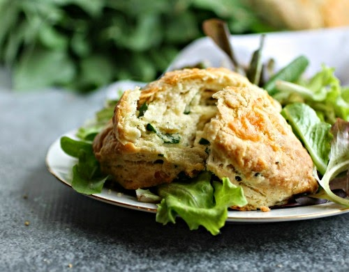 Cheesy Ramp Biscuits