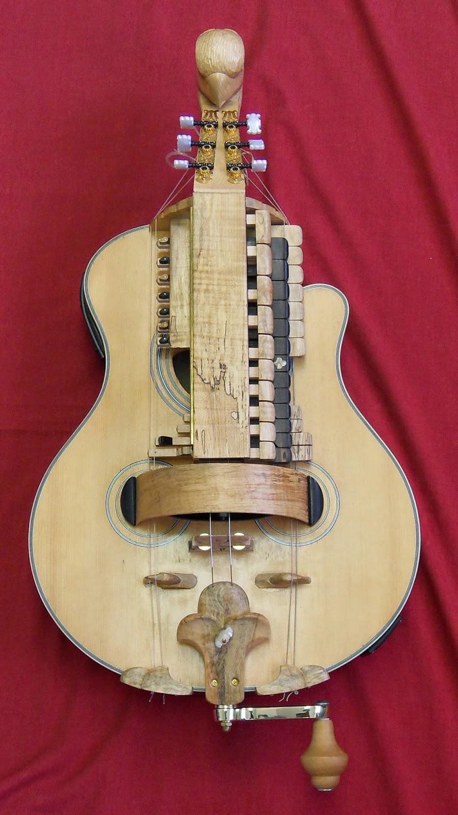 joel peyton, luthier: my hurdy gurdy
