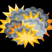 爆発のイラスト
