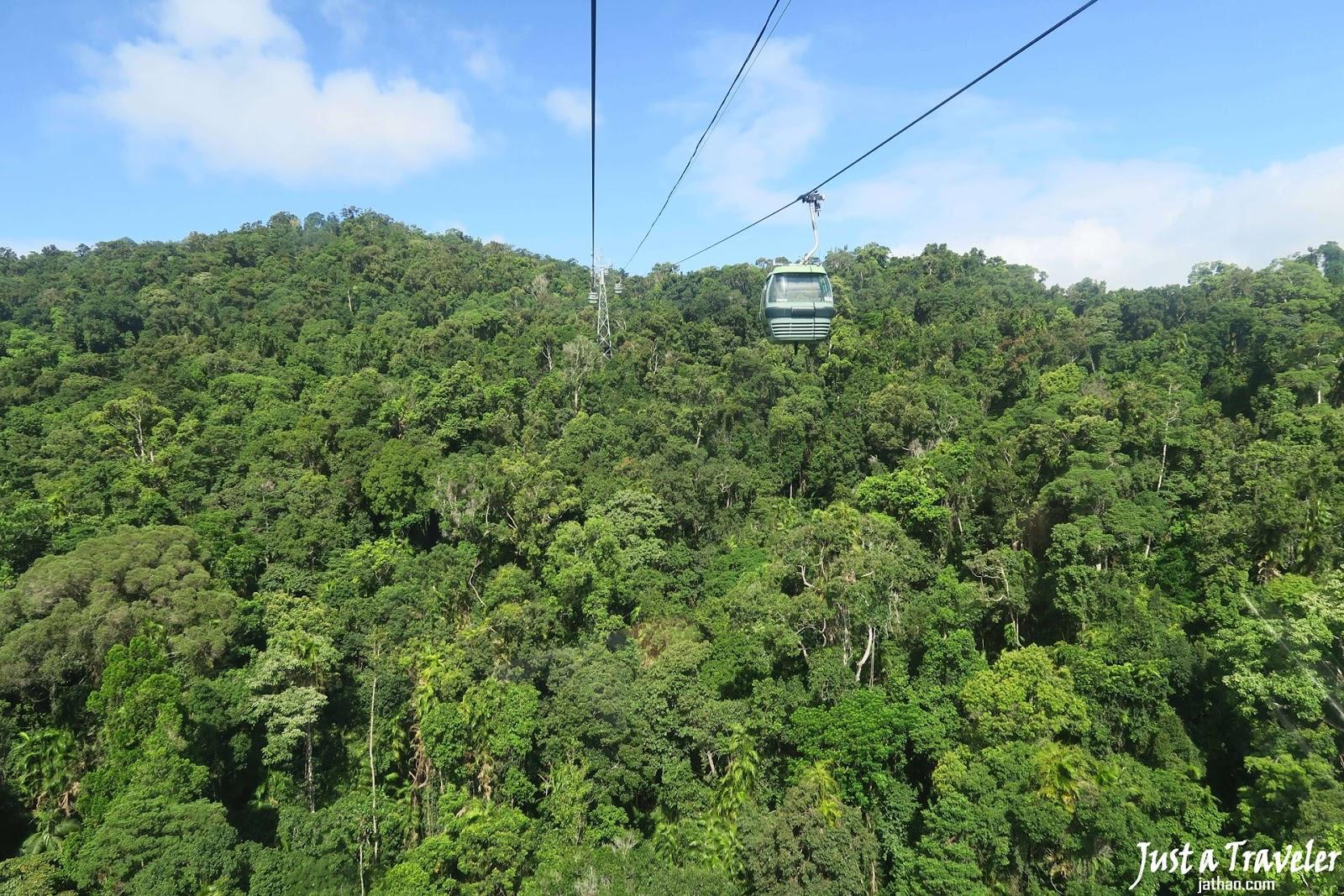 凱恩斯-景點-推薦-庫蘭達-纜車-旅遊-自由行-澳洲-Cairns-Tourist-Attraction-Kuranda-Cableway-Travel-Australia