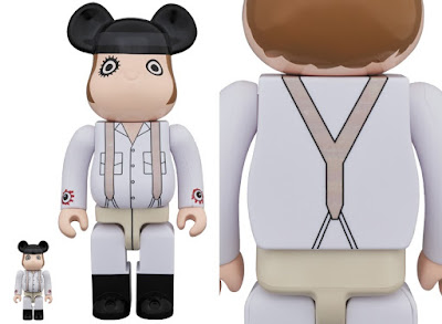A Clockwork Orange Alex DeLarge Be@rbrick Vinyl Figures by Medicom Toy