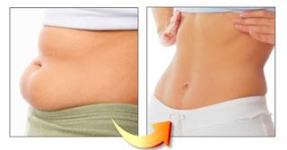 cara menghilangkan lemak diperut