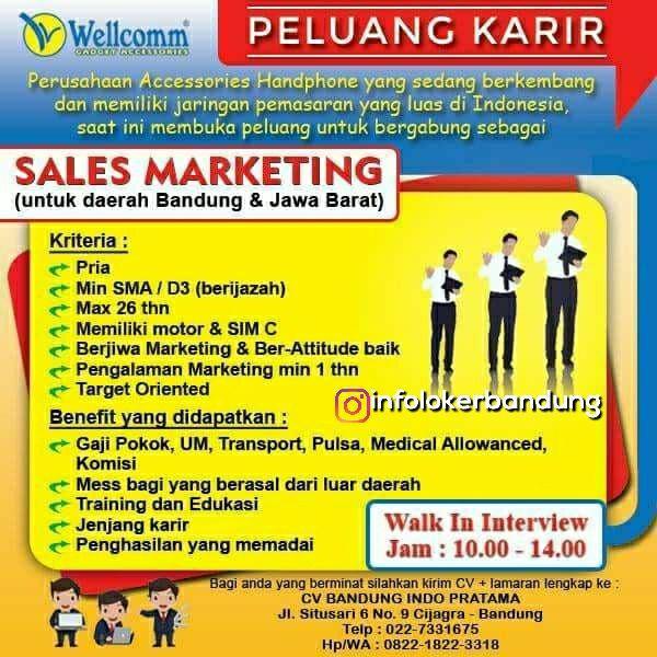 Lowongan Kerja CV. Bandung Indo Pratama Bandung Mei 2018