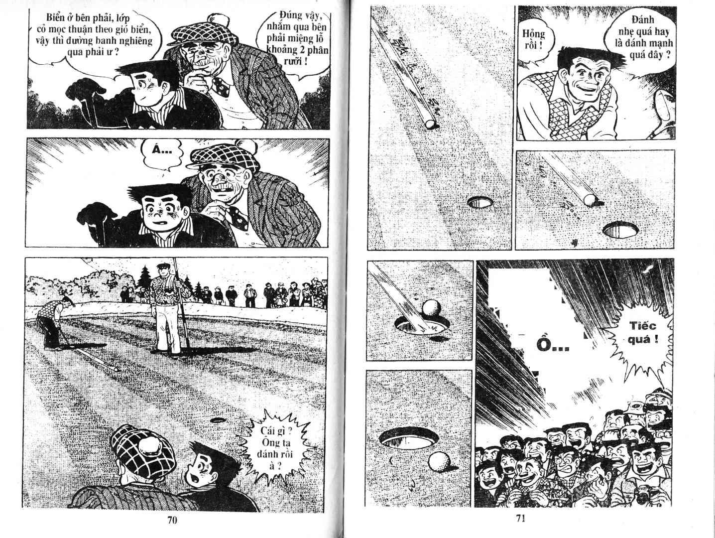 Ashita Tenki ni Naare chapter 52 trang 34