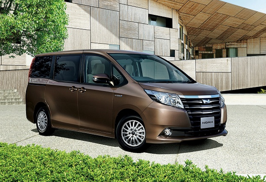 2015 Toyota Noah A car for the masses