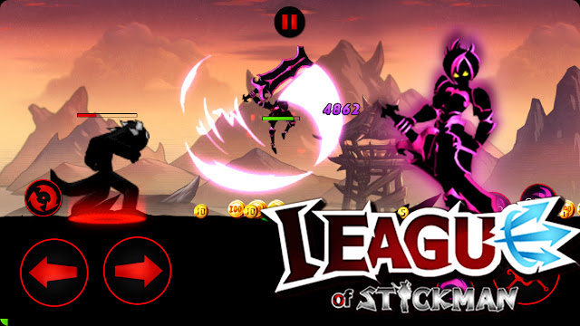League of Stickman: Warriors APK MOD Free Shopping