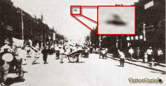 8 fotos de OVNIs inacreditáveis de uma época que não existia Photoshop