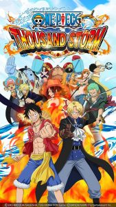 ONE PIECE THOUSAND STORM MOD APK (Enemy has 1 HP/Damage) Android English Version 10.1.7 Update Terbaru