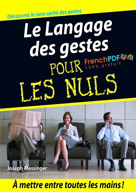 Le Language des gestes pour les nuls PDF Gratuit