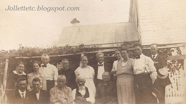 Jollett Reunion 1921 Harriston, Virginia  https://jollettetc.blogspot.com