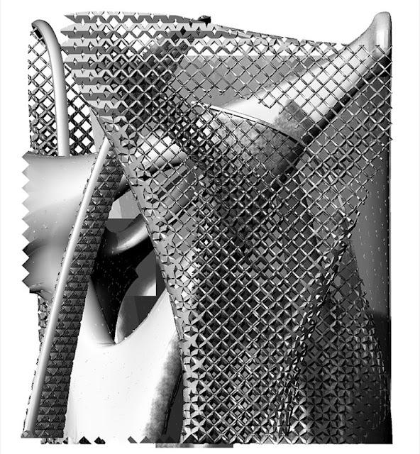 Aluminimum 3D-Printed Chair