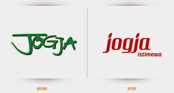 logo brand identity branding destination kota yogyakarta jogja makna arti filosofi lambang bentuk simbol warna proses cara pembuatan perubahan terkini
