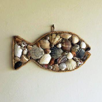 sea shells to hang on the wall