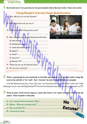 8. Sınıf İngilizce Tutku Yayınları Ders Kitabı Cevapları Sayfa 58