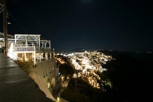 Fira di notte-Santorini