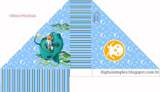 The Octonauts  Free Printable Napkin Holder