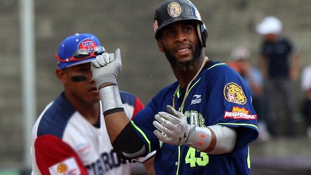 En total, el nativo de Sagua la Grande ligó para .371 de average e implantó récord dentro de su club al embasarse en los 40 desafíos que disputó en la Liga Venezolana de Béisbol Profesional